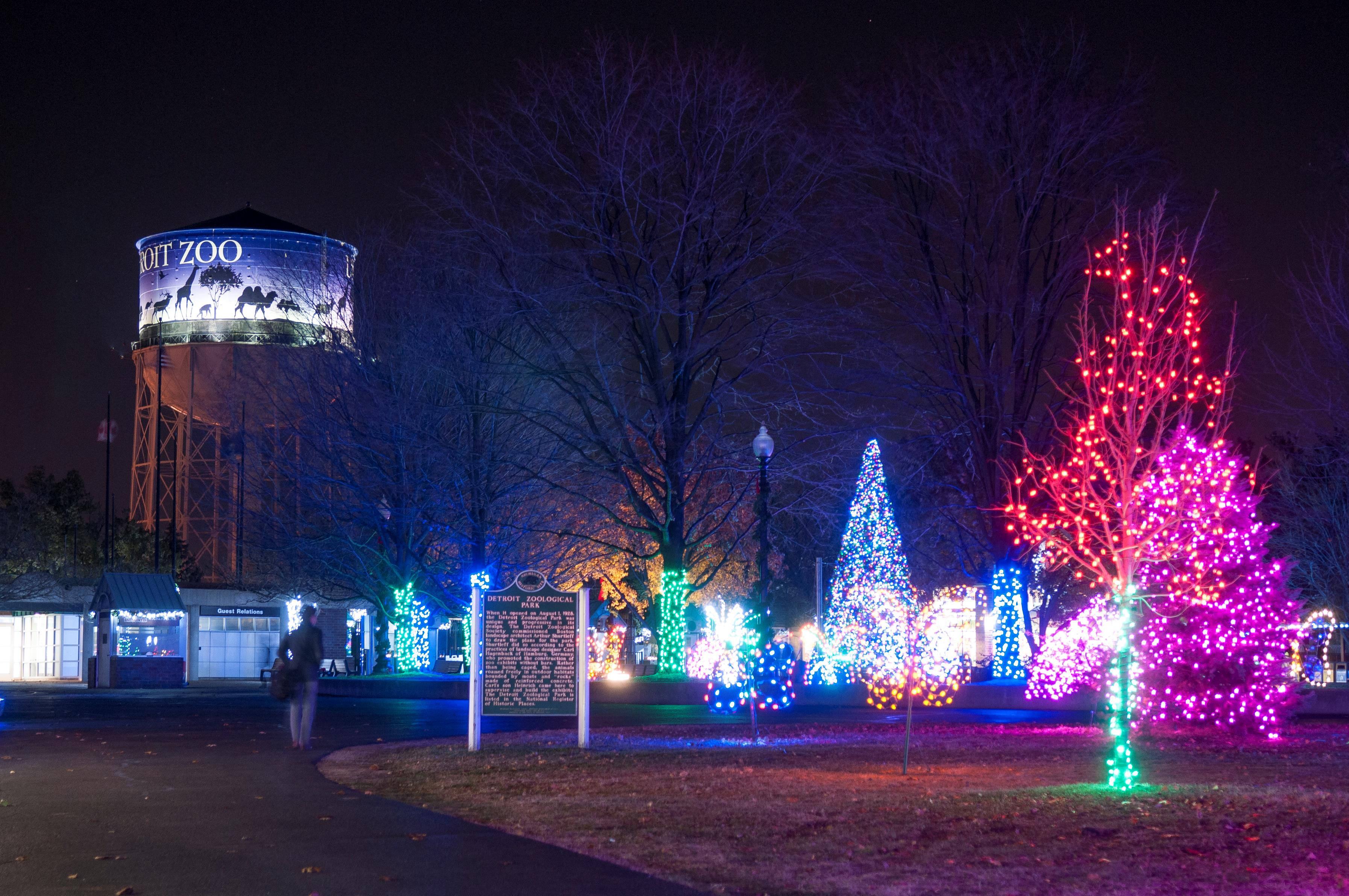 Perfect Final Days Of Wild Lights At The Detroit Zoo