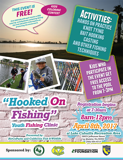 Children Encouraged to Get \'Hooked on Fishing\' at Free Clinic | Palm ...