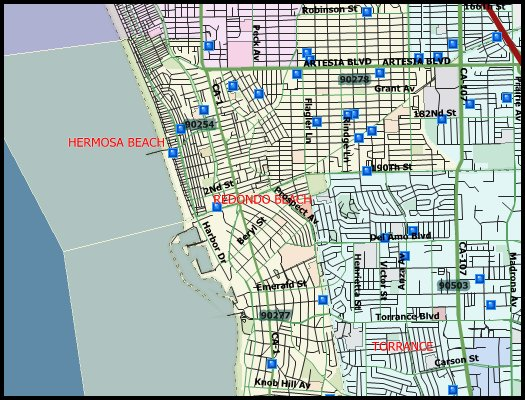 33 Sex Offenders in Redondo Beach 2016 Halloween Registry Map