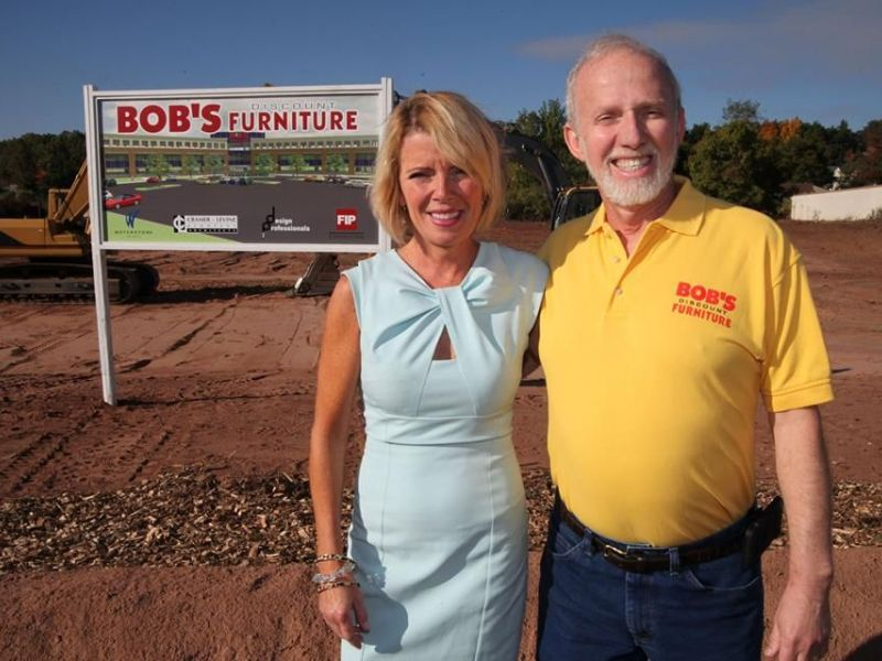 Ground Broken For Bigger Bobu0027s Discount Furniture HQ In Manchester |  Manchester, CT Patch