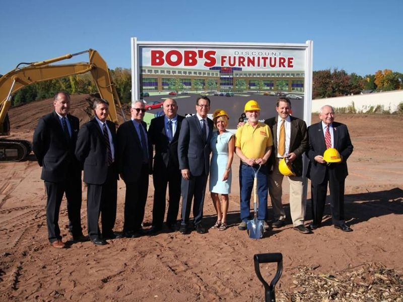 ... Ground Broken For Bigger Bobu0027s Discount Furniture HQ In Manchester  ...