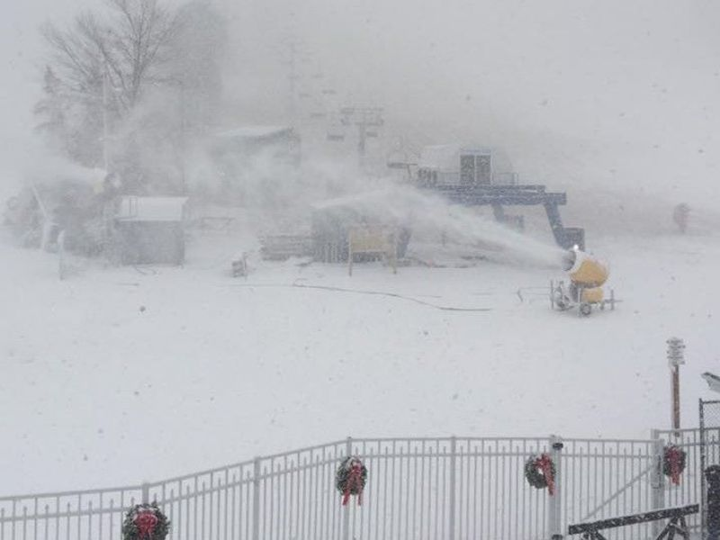 Mount southington gets its snowmaking window set to open for Windows for cold climates