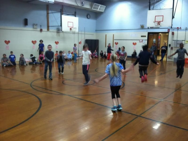 Jumping Rope for the Heart At Vernon's Center Road School ...