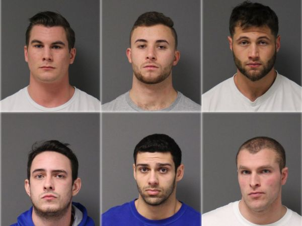 Six charged in aftermath of death of UConn student