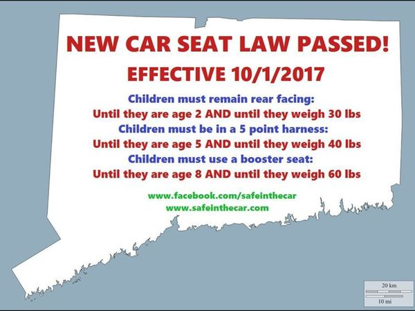 New Car Seat Laws Part Of Back To School Preparations