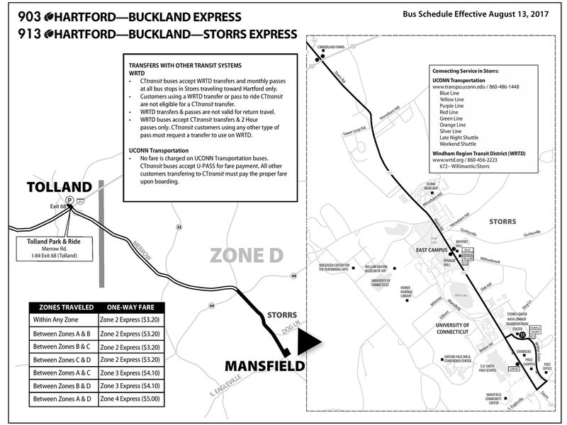 Start Date for TollandtoUConn DOT Bus Route Announced Mansfield