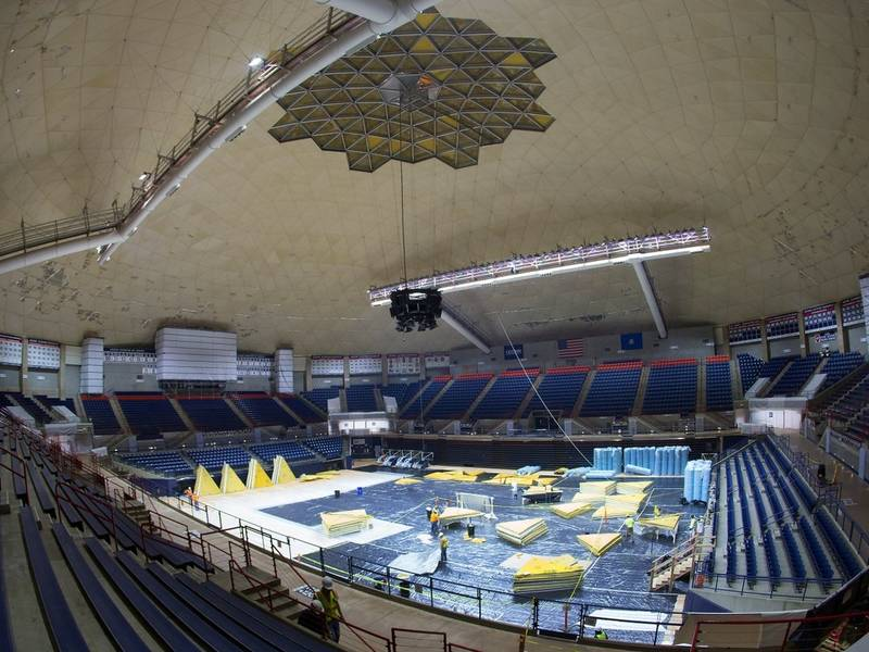 Uconn Ready To Hoop It Up Under New Gampel Roof