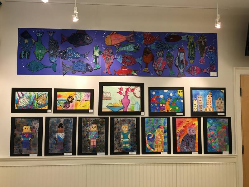 area students showcase their creativity at arts center east vernon