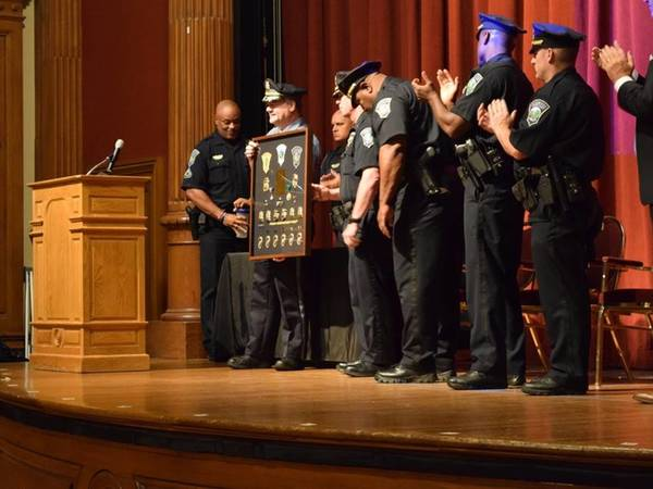 Manchester Police Conduct Annual Awards Ceremony
