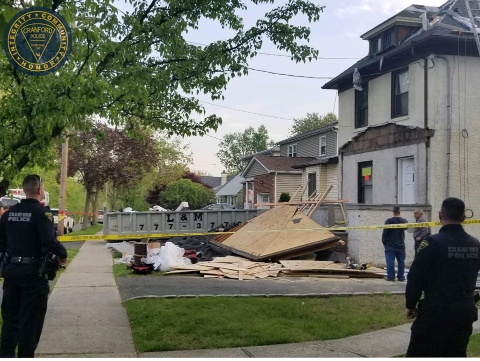 Contractor Injured In Cranford Roof Collapse Cranford