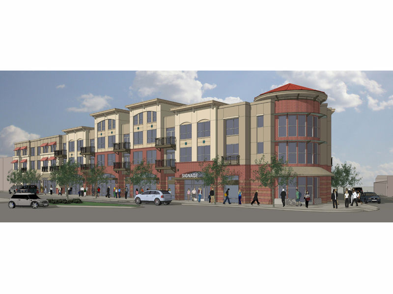 Construction Update On The San Bruno Plaza Apartments