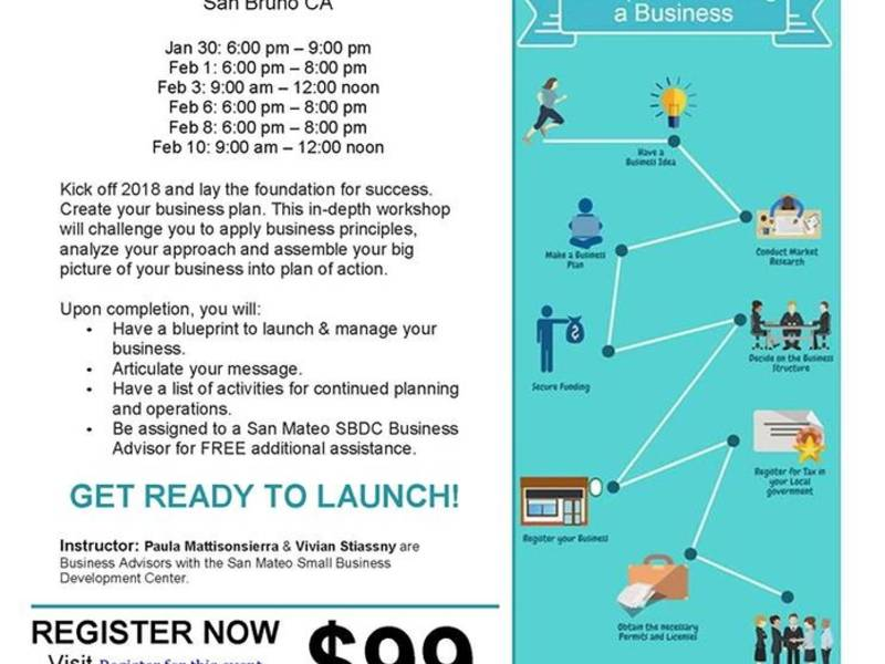 Build your business workshop starting january 30 2018 san bruno build your business workshop starting january 30 malvernweather Gallery