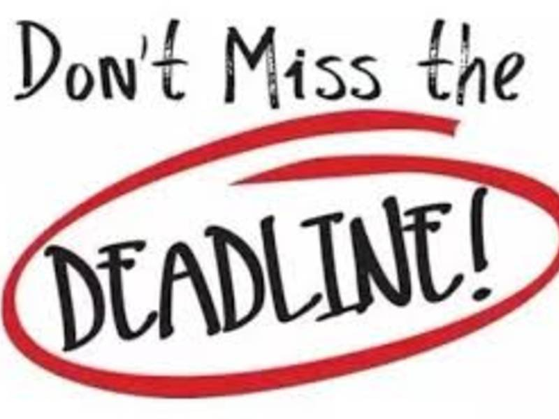 Image result for deadline