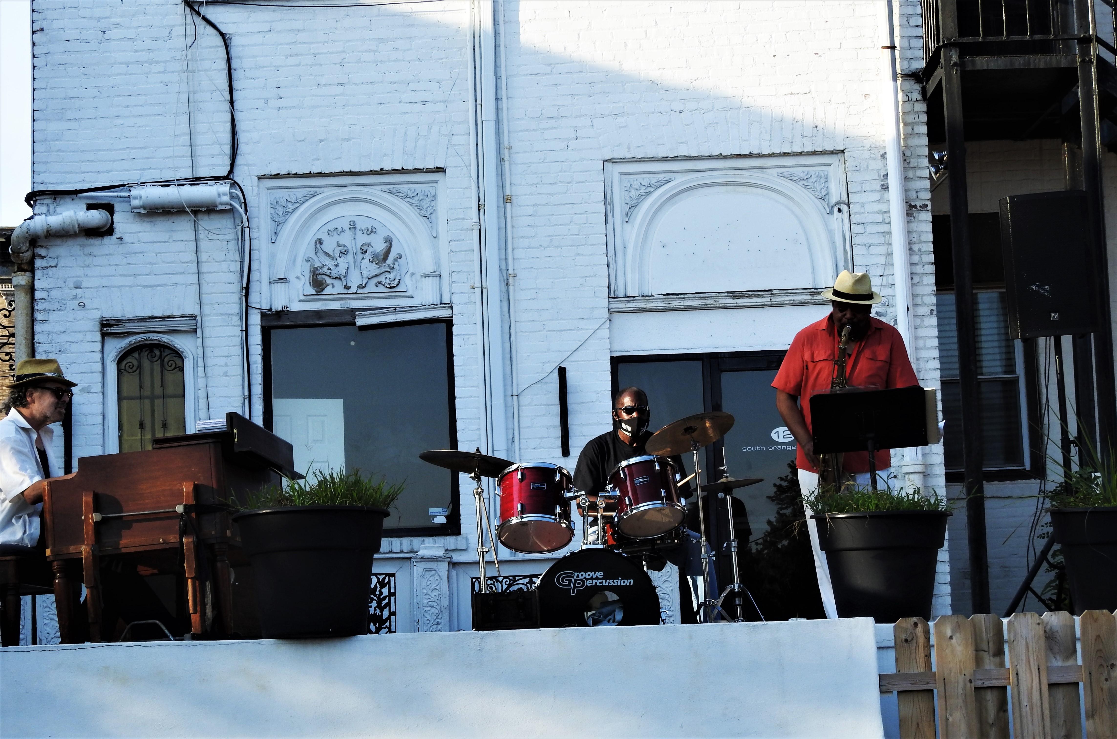 Radam Schwartz Organ  G. Earl Grice Drums and Gene Ghee Sax