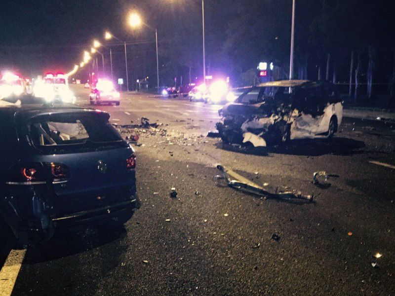 Car Accident In Orlando Florida This Morning