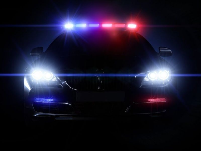 car tampa of with police lights southtampa array hit patch shutterstock fl florida full girl bmw by