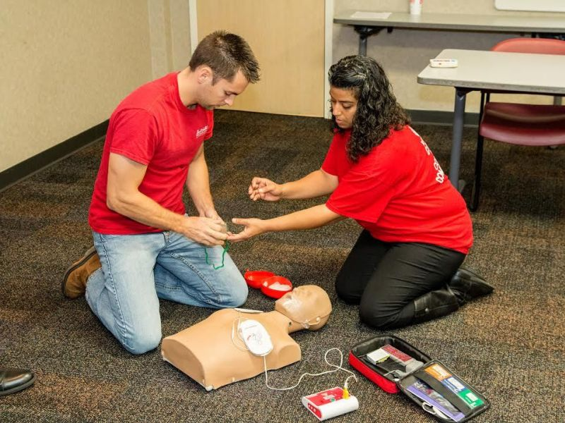 Free Cpr Choking Prevention Classes Set New Port Richey Fl Patch