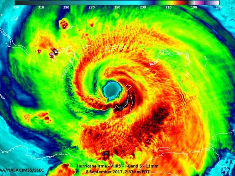 Hurricane Irma Downgraded To Category 1 Storm Tampa Fl