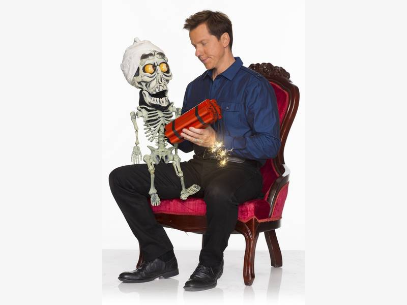 jeff dunham 39 s 39 passively aggressive 39 tour coming to tampa. Black Bedroom Furniture Sets. Home Design Ideas