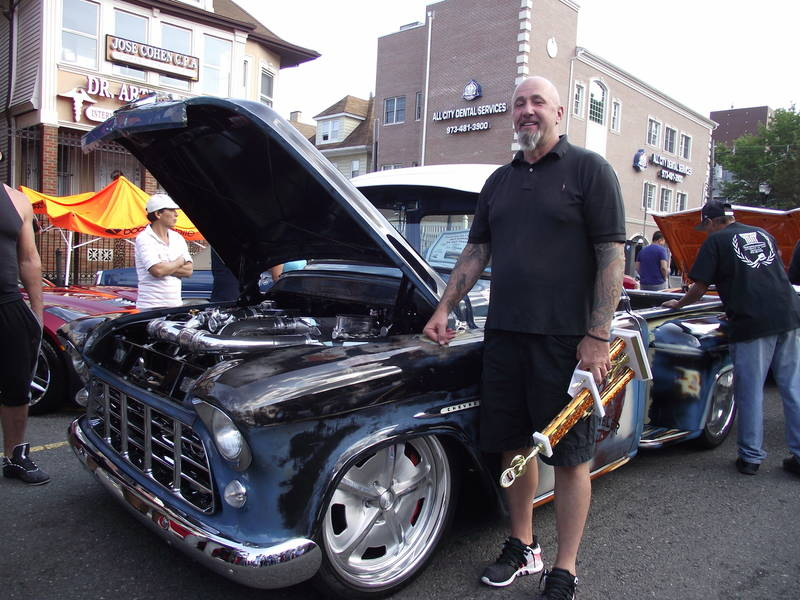 u0026 39 55 chevy wins top prize at newark hot rods  u0026 classic car show