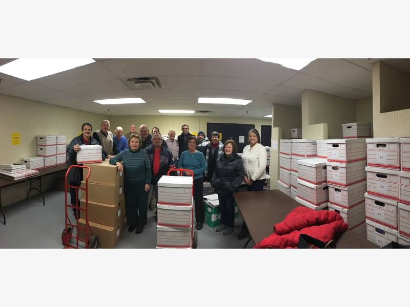 Rotary Club of Wilmette Collects 20,400 Books For Chgo Schools