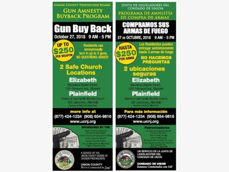 Reminder: Turn In Unwanted Guns at Union County Gun ...