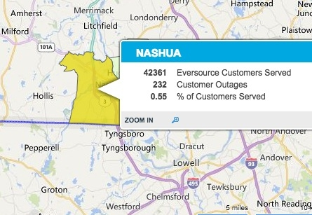 Nashua Power Outages Hundreds Go Dark Nashua NH Patch