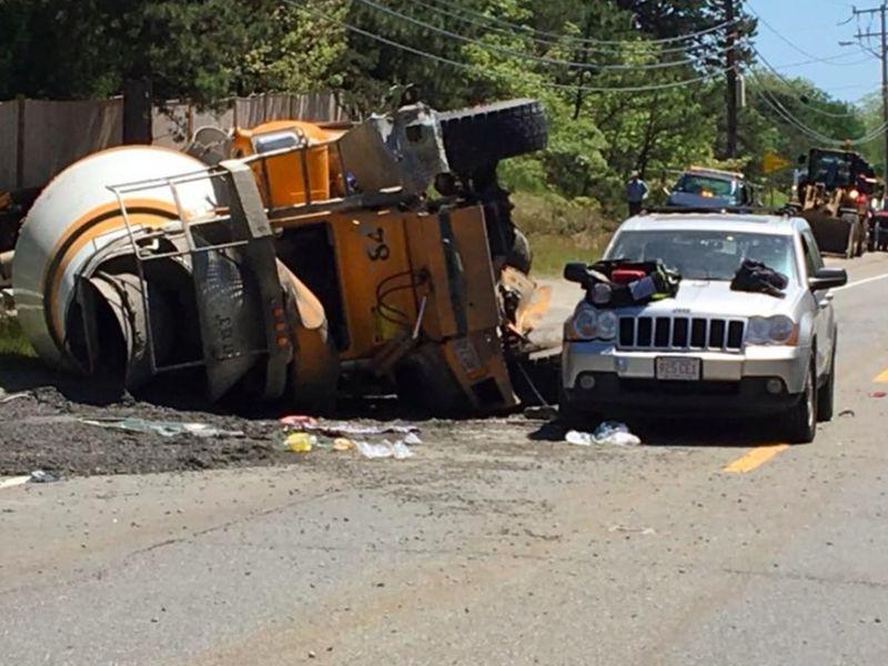 Falmouth Car Crash Cause