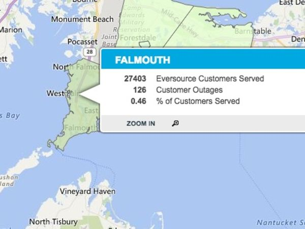Falmouth Fire Power Outages Reported Falmouth Ma Patch