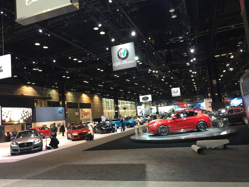 On the Beat at the 2018 Chicago Auto Show | Skokie, IL Patch