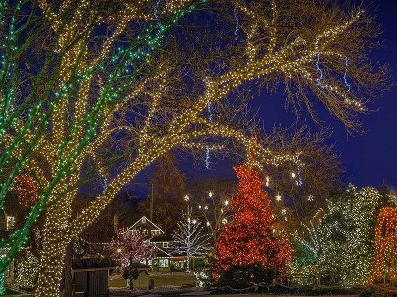 The Best Christmas Light Displays In Eastern Pennsylvania - The Best Christmas Light Displays In Eastern Pennsylvania Newtown