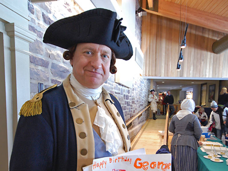 Park To Host George Washington's 287th Birthday Party