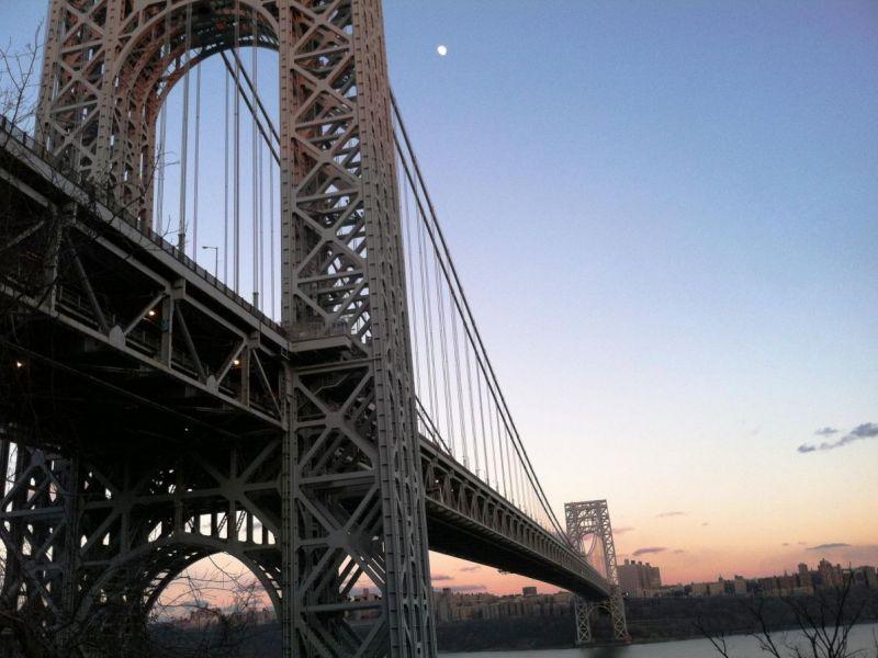 Crash Delays Traffic On George Washington Bridge | Fort ...