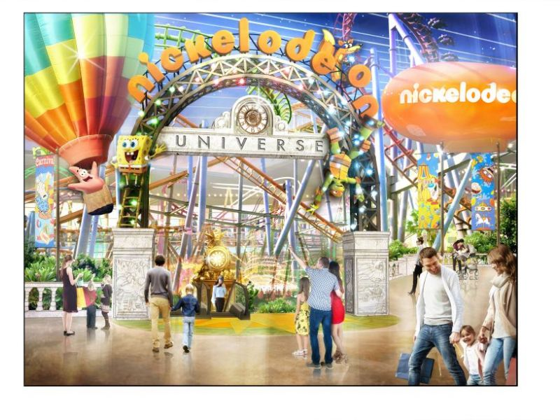 Nickelodeon Universe Theme Park Coming To American Dream