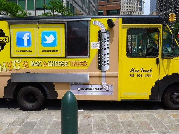 Mac Truck Food Network