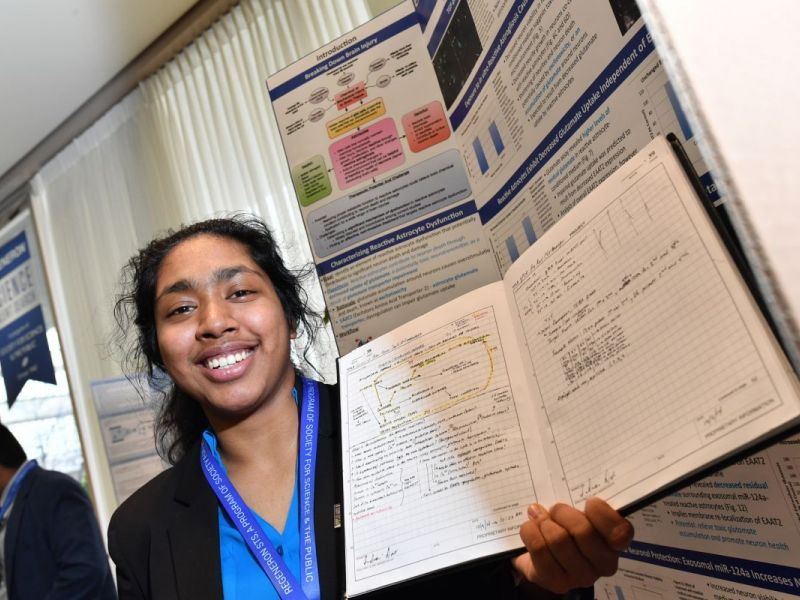 Bergen Student Wins $250,000, Nation's Top High School Science Competition  [video]