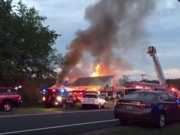 Man, dog both killed by flames of intense North Jersey fire