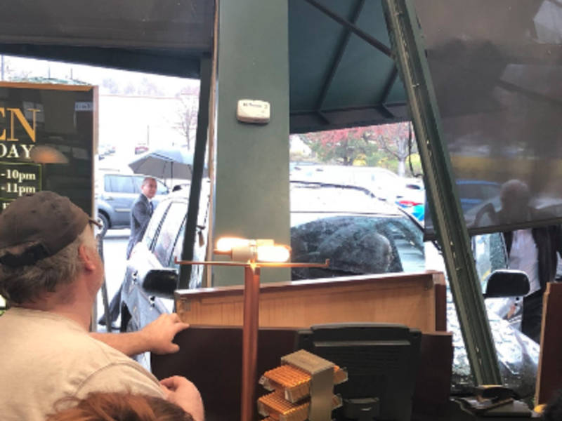 Car Crashes Into Nj Bookstore While Author Was There Photos