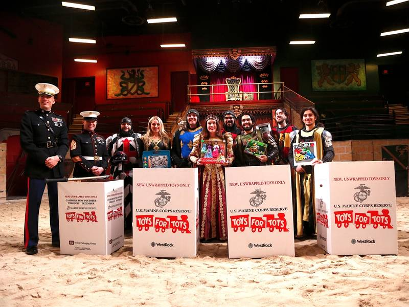 Bergen Meval Times Partners With Toys For Tots Donation Drive