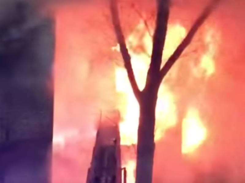 Fire Tears Through Fort Lee Apartment Building [Video]