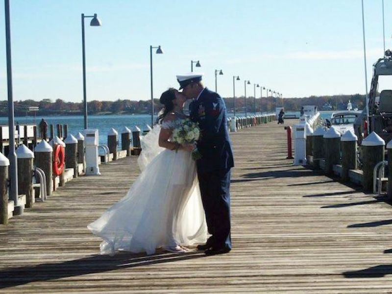Magical Day At Brecknock Hall For Veterans Wedding Giveback North Fork Ny Patch