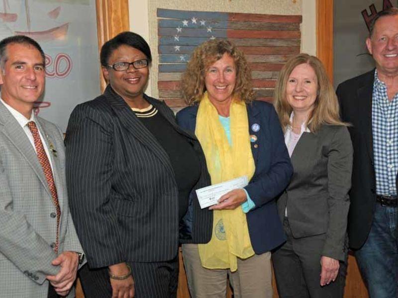 Photos East Hampton Lions Club Donates Funds To Help