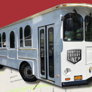 Town Unveils New Trolley Service Coming To Hampton Bays