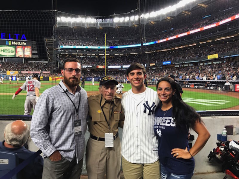 b6f9a6f1e2b Local Veteran Thrilled To Be Honored At Sunday s Yankee Game ...