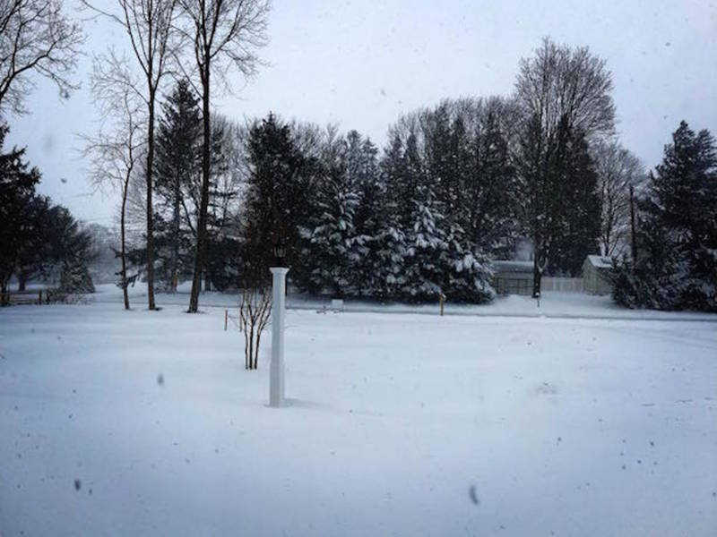 See Photos With 2018 Photos: View From Your Windows: North Fork Snow Photos 2018