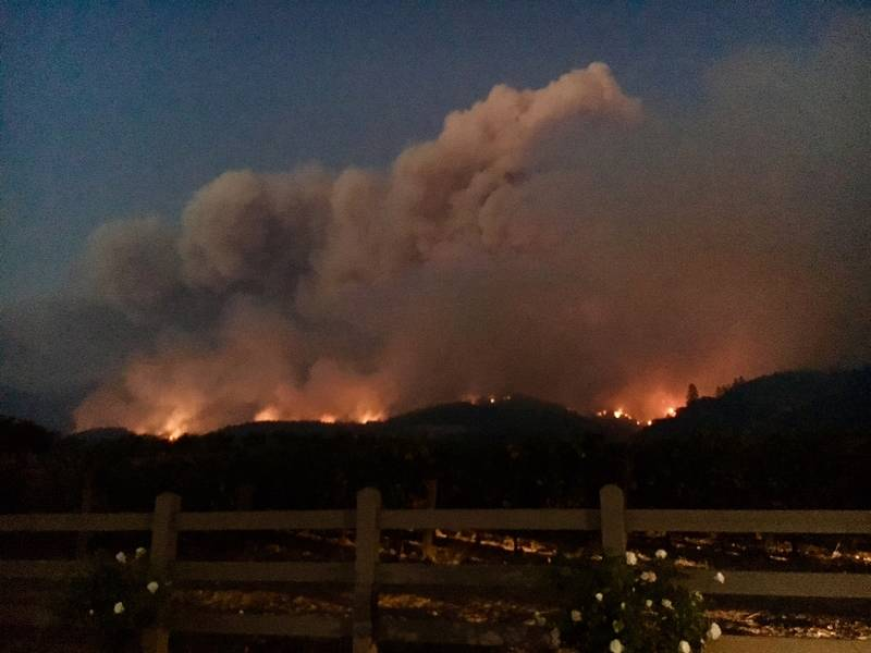 Butte Yuba County Wildfires 4 Dead Some Evacuations