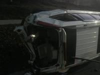 1 Injured In Rollover Crash In Danville Sunday