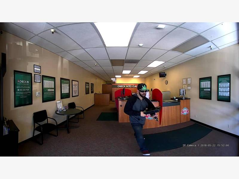Robbery suspect caught on camera livermore police say - Garden state check cashing newark nj ...