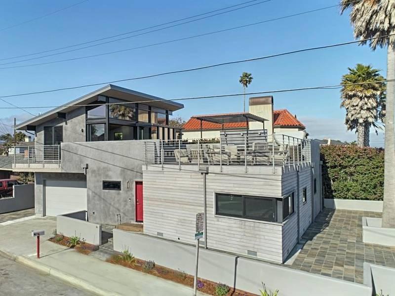 Santa Cruz Beach House Ocean View From The Entertainment Deck