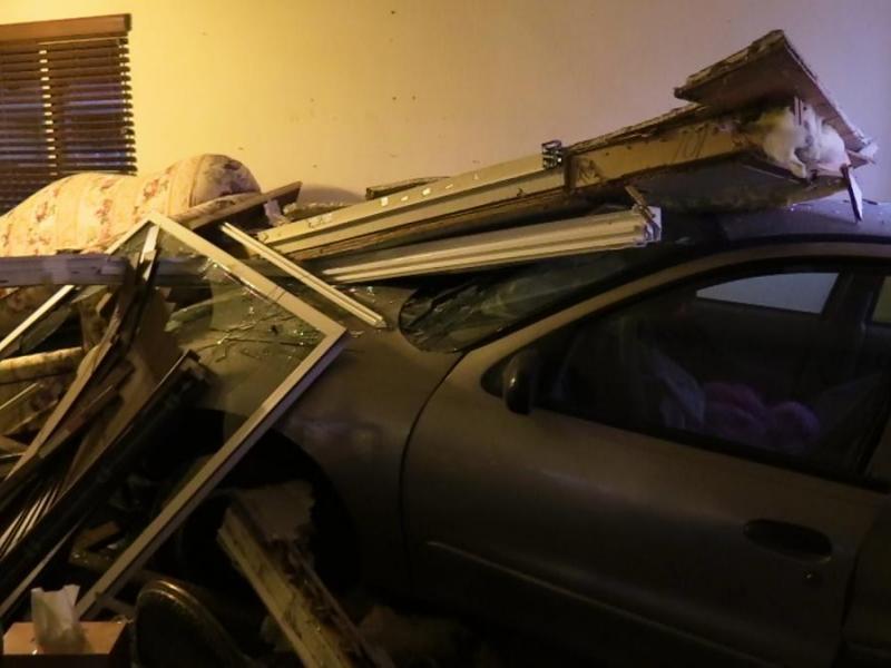Car Crashes Into Calimesa Home, DUI Suspected: PHOTOS, VIDEO ...
